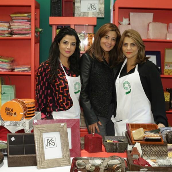 Stella Velasco,Katia y Ana Velasco