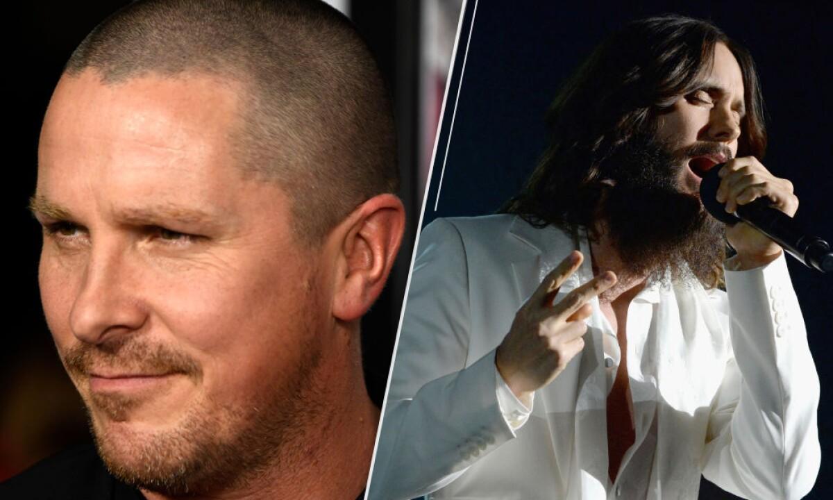 La película que podría reunir a Christian Bale y Jared Leto