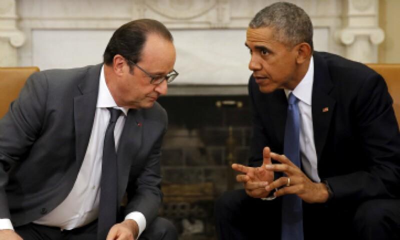 Los mandatarios se reunieron este miércoles en la oficina oval de la Casa Blanca. (Foto: Reuters)