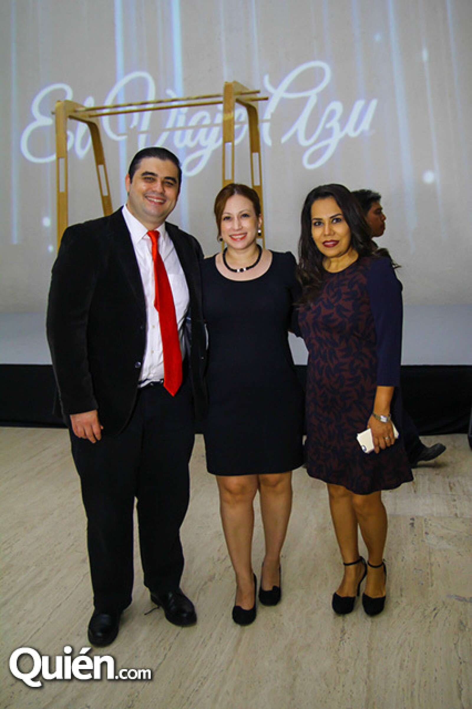 José Luis Mastretta,Caty,Pérez Bulnes y Norma Saucedo