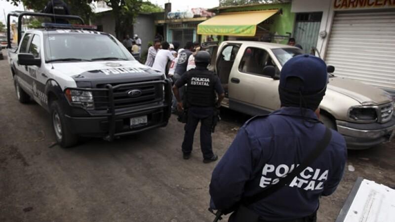 policía estatal de Veracruz