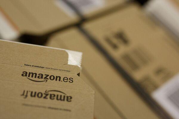Amazon Fulfillment Prepares Ahead Of Christmas In Madrid