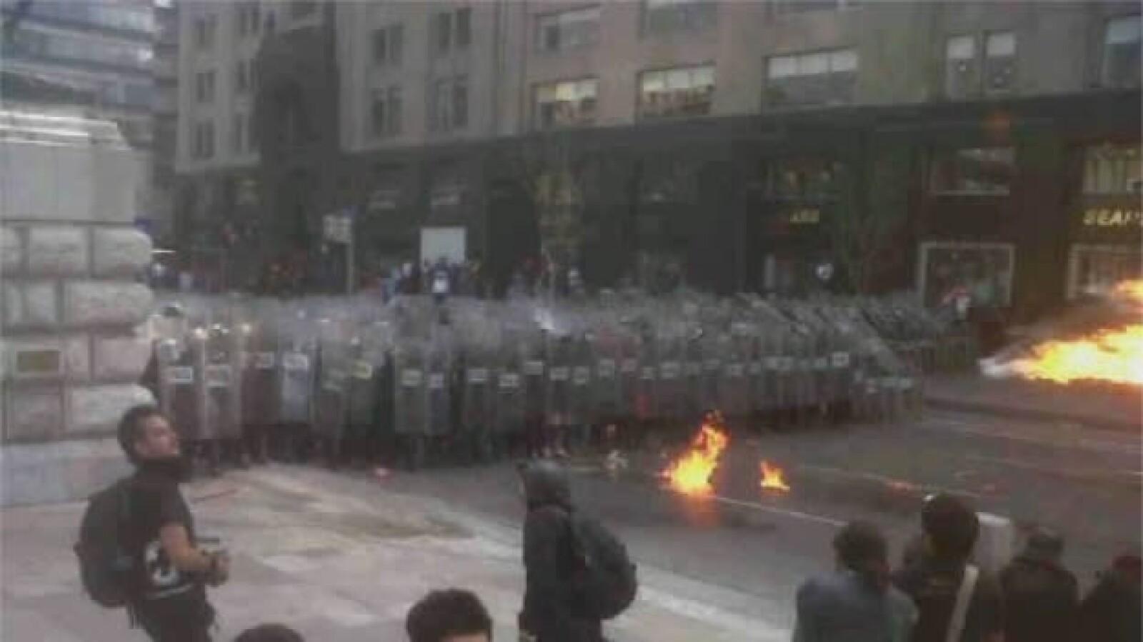 Protestas- Toma de protestas- Zócalo 5