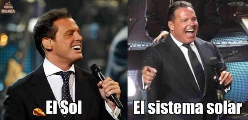 Uno de los memes que circula en redes sobre Luis Miguel.
