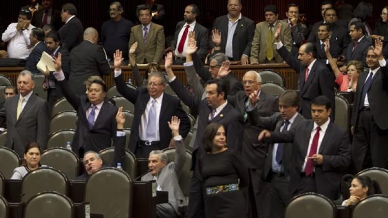 diputados sesión