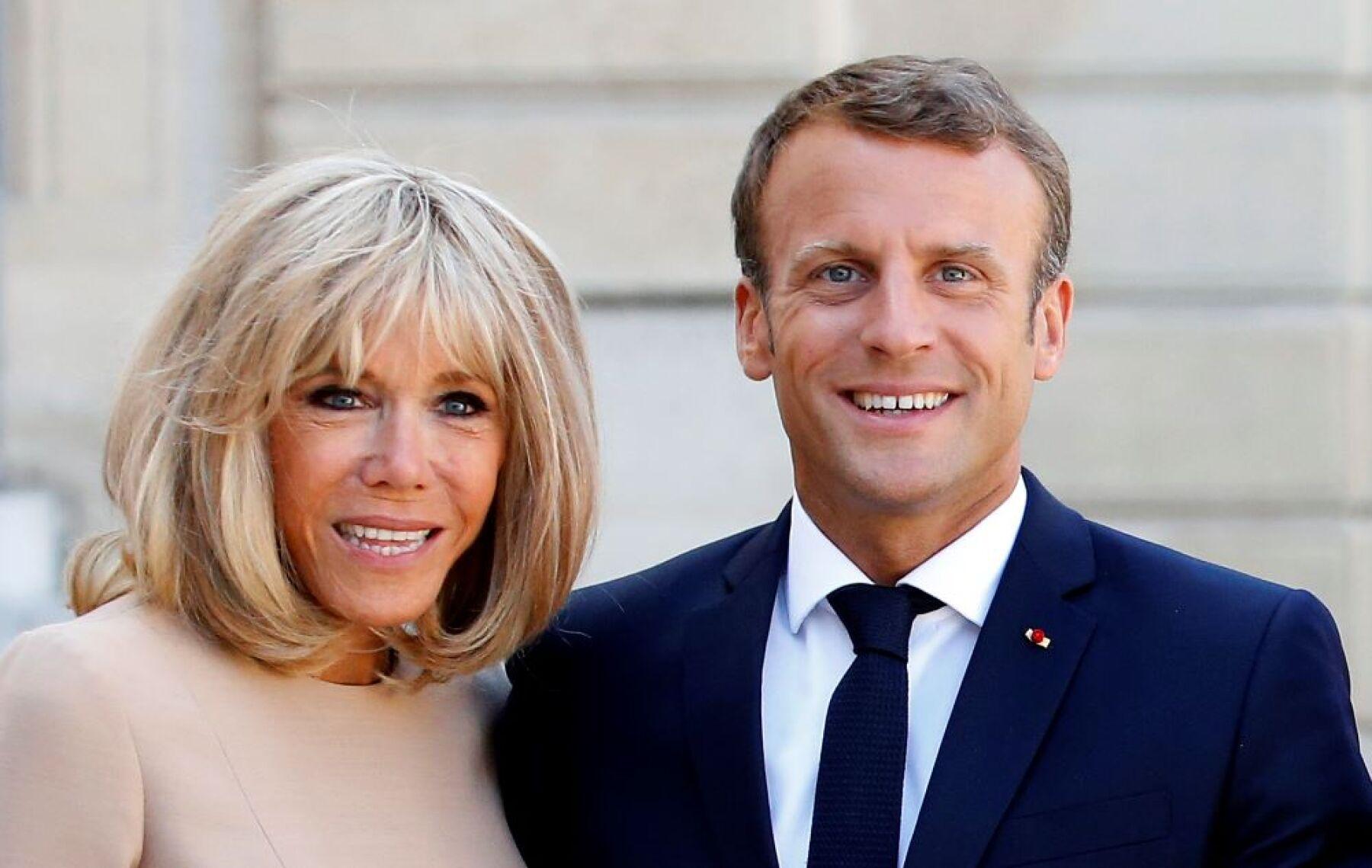Ellas Son Las Populares Hijastras De Emmanuel Macron