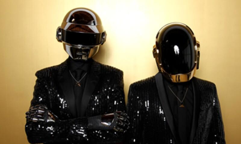 Daft Punk también estableció una marca en Spotify el mes pasado con una canción. (Foto: AP)