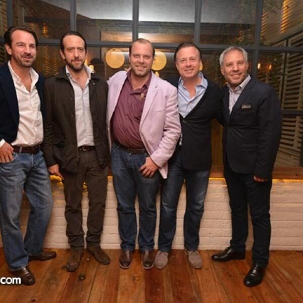 Neal Tritton,Rogelio Enríquez,Aurelien Julou,Felipe Williamson y Marcos McCluskey.