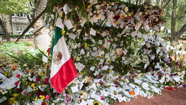 Altar por México en el Parque México