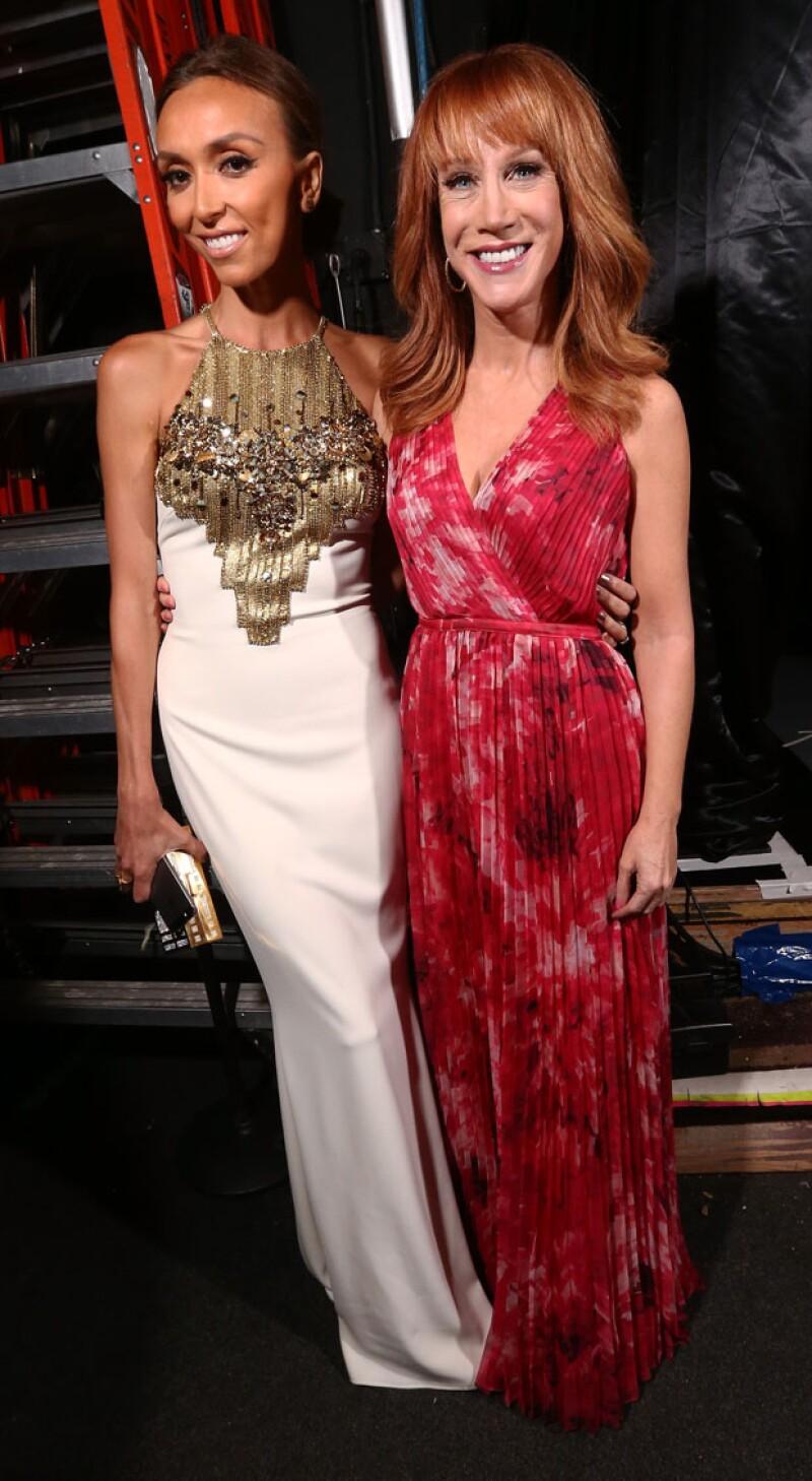 La salida de las conductoras Kathy Griffin y Kelly Osbourne ha puesto en pausa el programa de crítica de moda del canal E! Entertainment.
