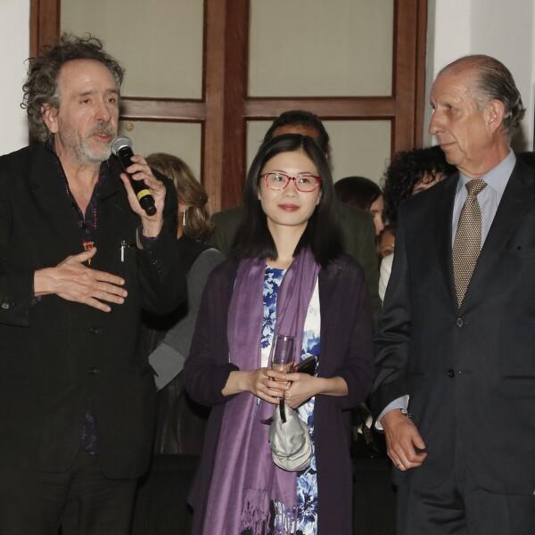 Inauguración expo Tim Burton