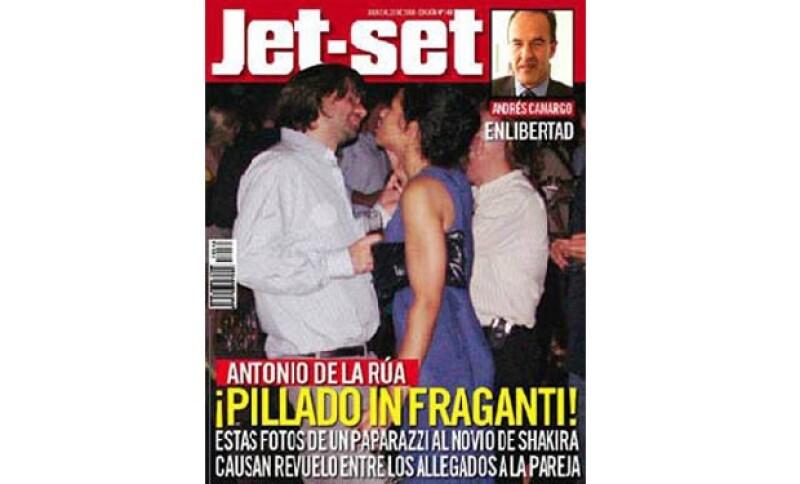 La cantante se enamoró del argentino en el 2000, cuando ella iniciaba su proyección internacional y él era asesor del presidente argentino, Fernando de la Rúa, su papá.