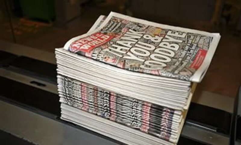 News Corp cerró News of the World, fundado hace 168 años. (Foto: Reuters)