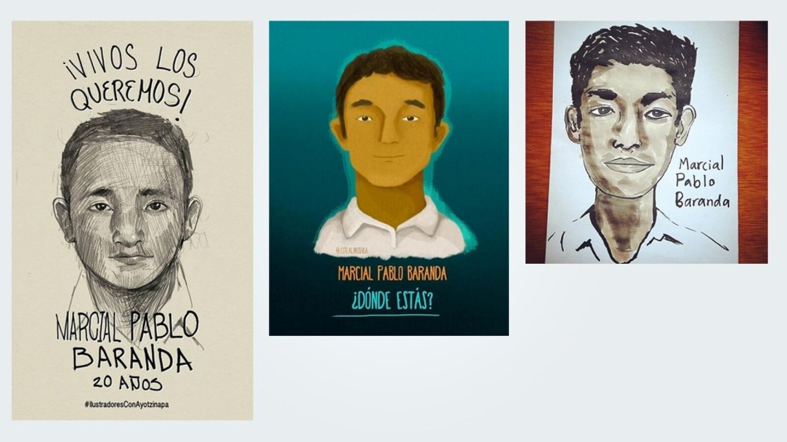 Marcial Pablo Baranda Ayotzinapa