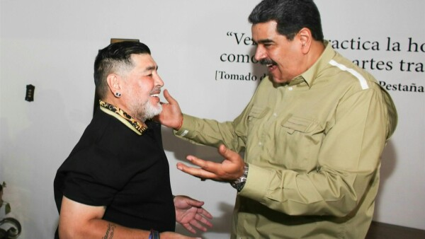AFP PHOTO / VENEZUELAN PRESIDENCY / MARCELO GARCIA / TWITTER ACCOUNT OF NICOLAS MADURO / AFP
