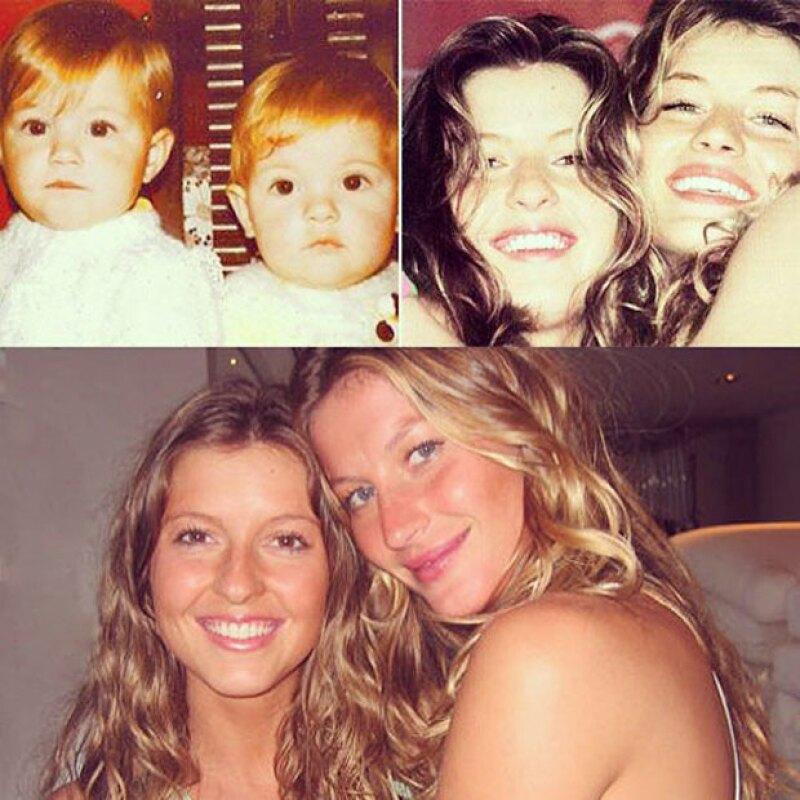 Hoy también es el cumpleaños de Patricia Bündchen, la gemela de Gisele, que también estudió modelaje, pero al no tener tanto éxito como su hermana, decidió convertirse en su representante.