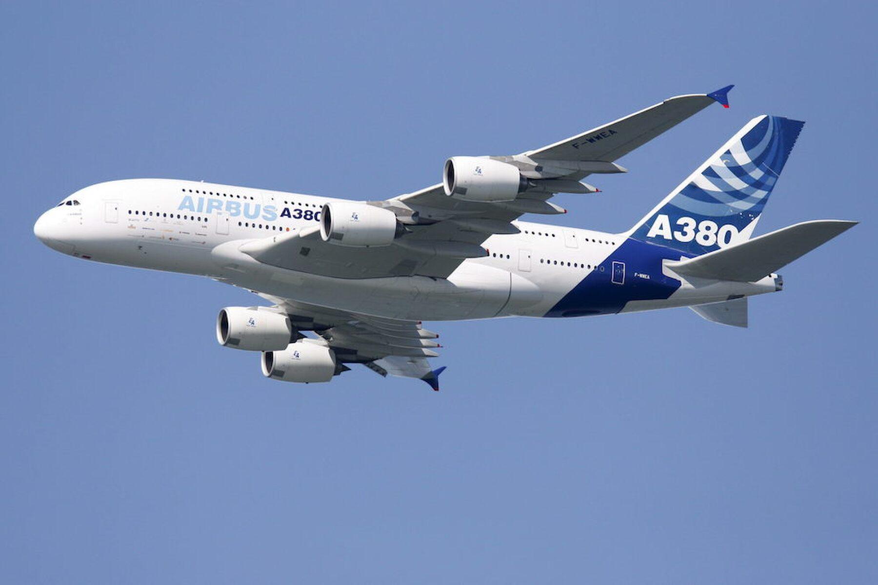 AIRBUS A380 ATERRIZA EN SAN FRANCISCO