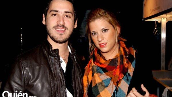 Diego Flores y Natalia Villareal