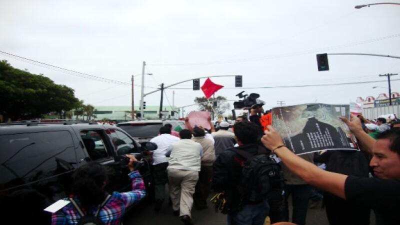 peña protestas tijuana