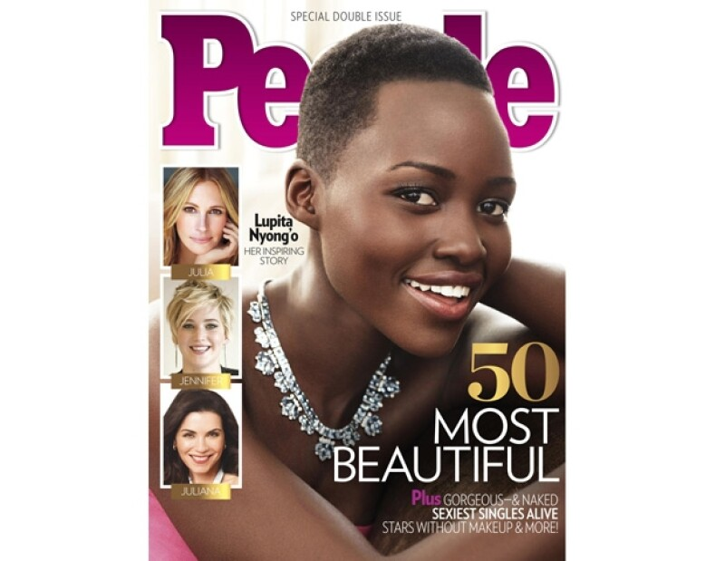 Lupita engalana la portada de la revista People.