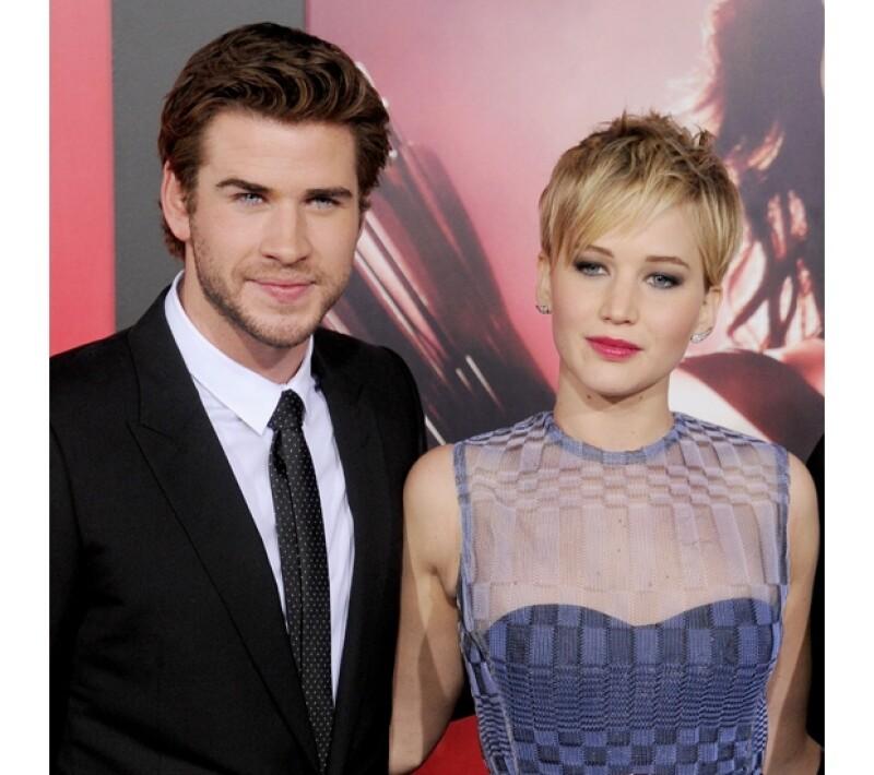 Liam y Jennifer han hecho una buena amistad durante el tiempo que han trabajado juntos.
