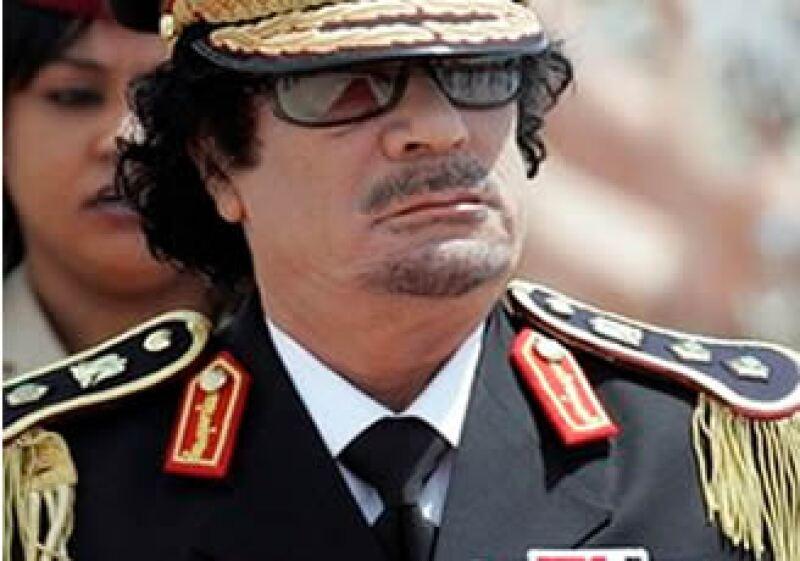 Los activos pertenecen a Gadhafi, a sus familiares, así como a titulares de compañías nacionales libias. (Foto: AP)