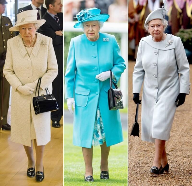La reina es fiel a sus zapatos: jamás los cambia.