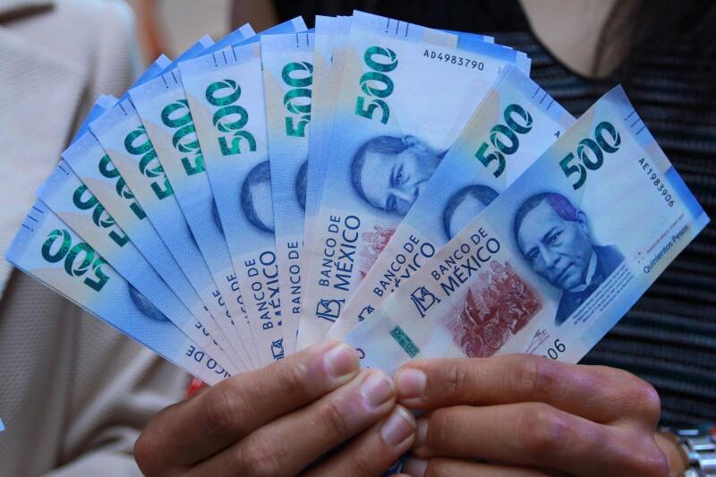 El nuevo billete de 500 pesos.
