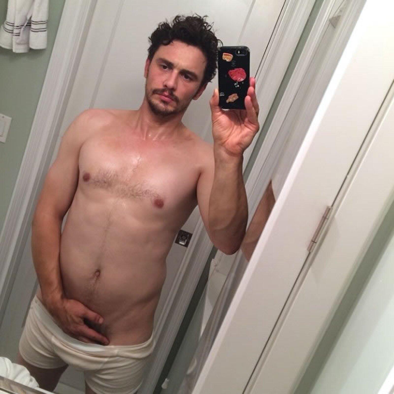 James Franco ha dado de qué hablar por lo bizarro que está su Instagram últimamente.