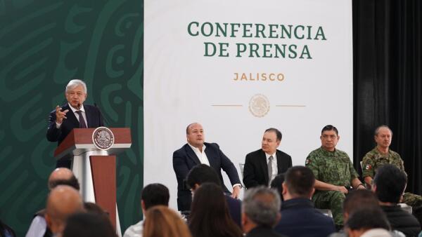 Mañanera en Jalisco
