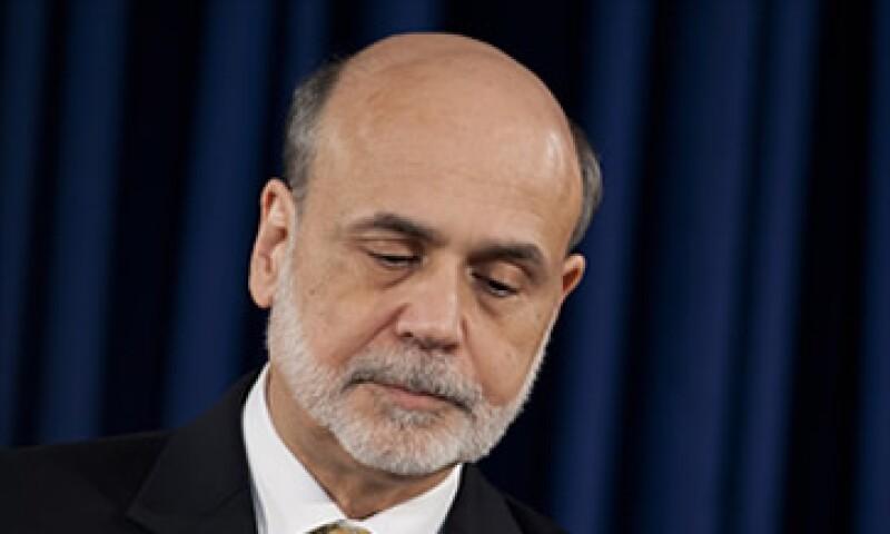 Ben Bernanke fue designado como Presidente de la Fed por George W. Bush y Barack Obama lo confirmó para un segundo mandato.  (Foto: Cortesía CNNMoney)