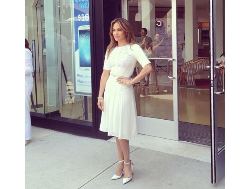 """Jennifer Lopez está emocionada de regresar a trabajar en """"American Idol""""."""
