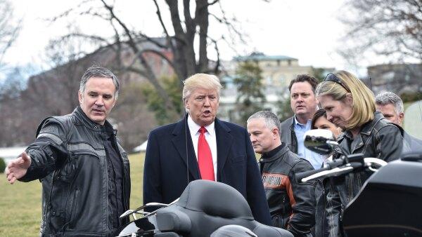 Así es como Harley Davidson se puso en la mira de Donald Trump