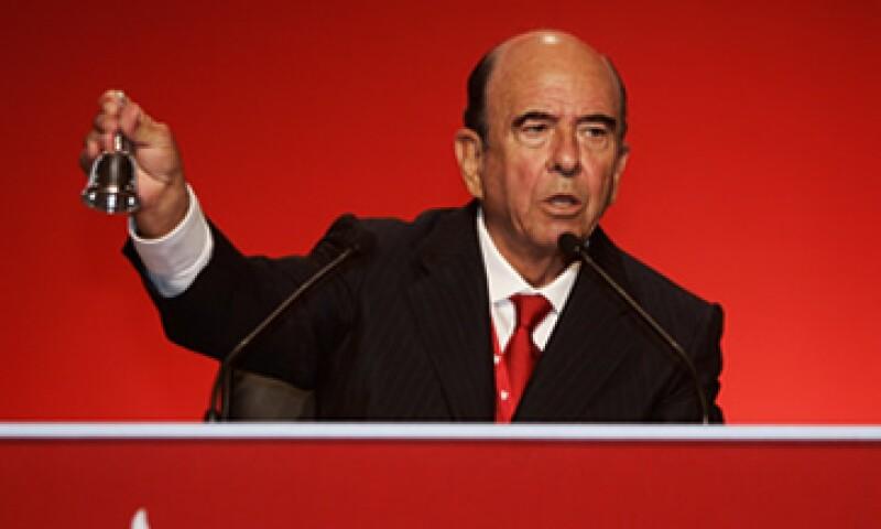Emilio Botín es considerado el banquero más poderoso de España. (Foto: Archivo AP)