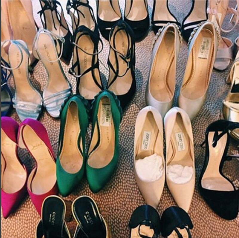 ¿Serán los zapatos de Dakota Johnson?