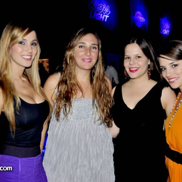 Andrea Vidal, Emilia Batarse, Anahí Garza y Jessica Chapa