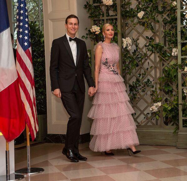 State Dinner for French President Emmanuel Macron, Washington DC, USA - 24 Apr 2018
