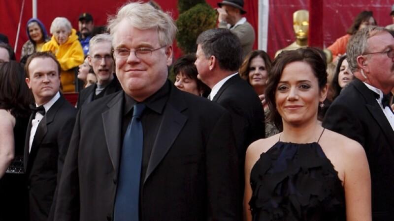 Philip Seymour Hoffman y la heredera de su fortuna, Mimi O'Donnell, madre de sus tres hijos