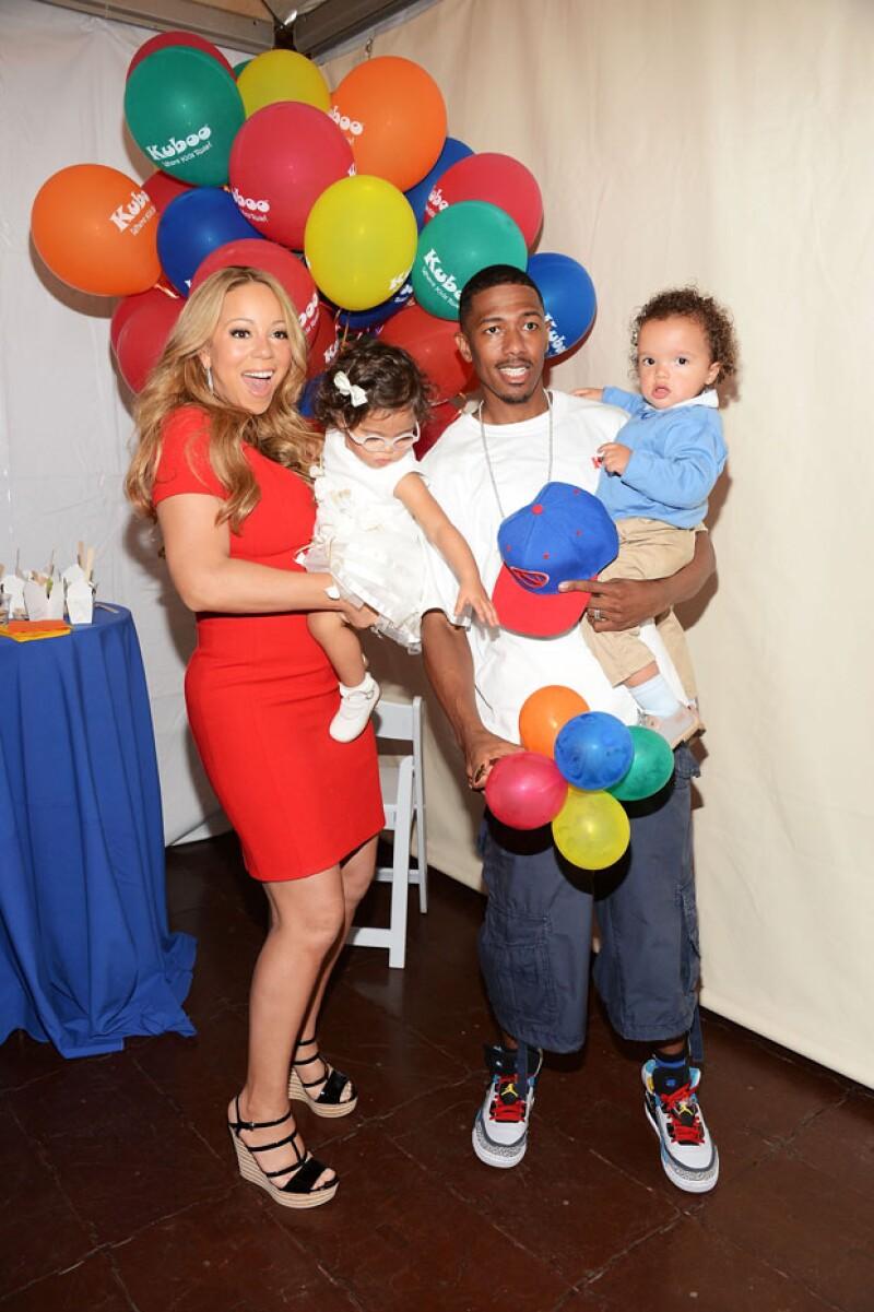 Durante su matrimonio Mariah y Cannon dieron a sus gemelos la mejor vida en familia.