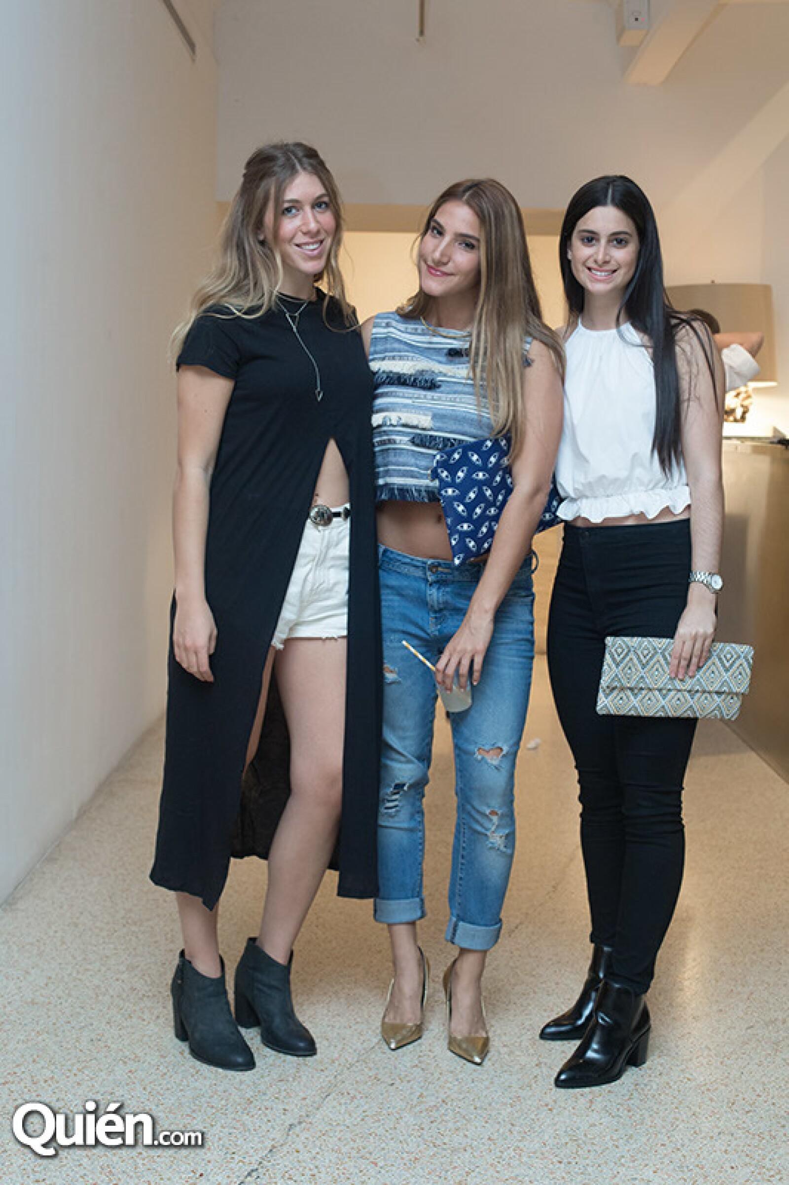 Talia Hoffe,Estrella Levy y Florencia Rutemberg