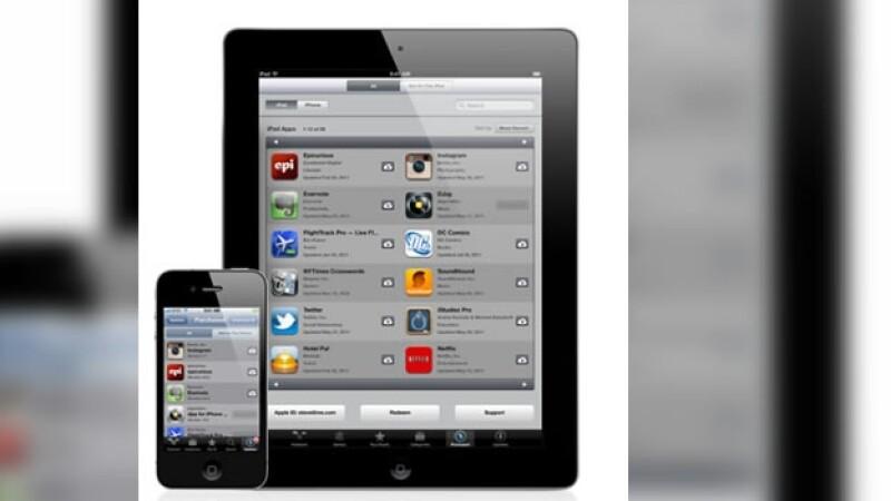 app store icloud