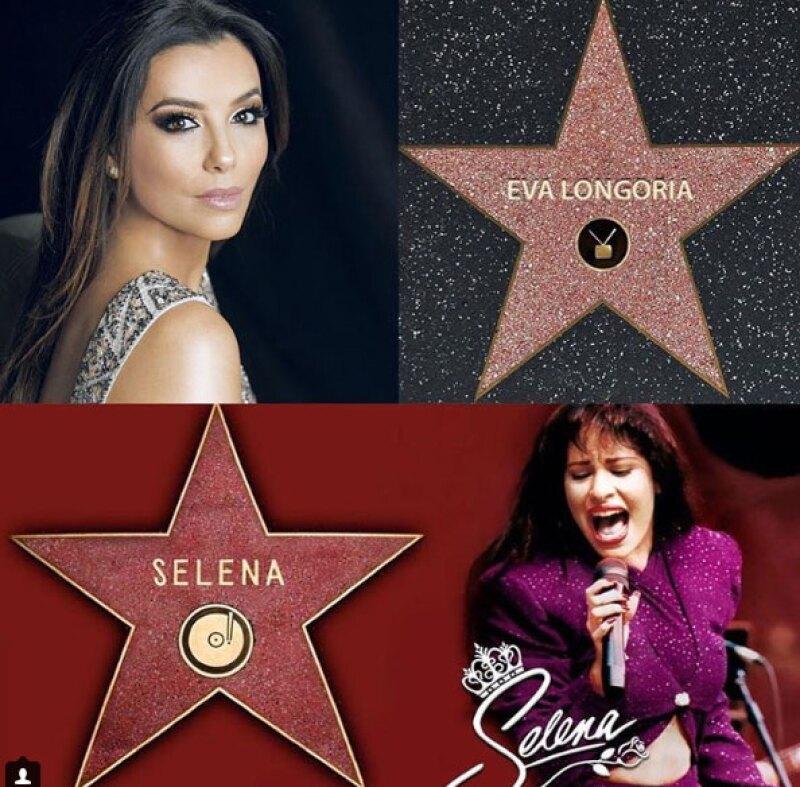 La actriz y esposa de Pepe Bastón aseguró que su inspiración siempre ha sido Selena Quintanilla.