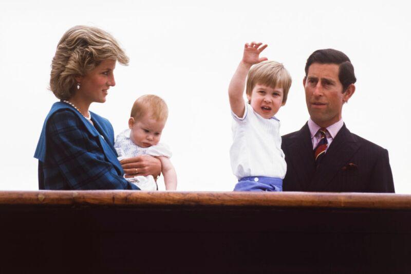 Carlos y Diana de Gales
