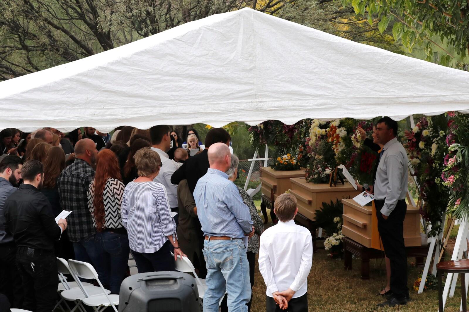 lebarón funeral