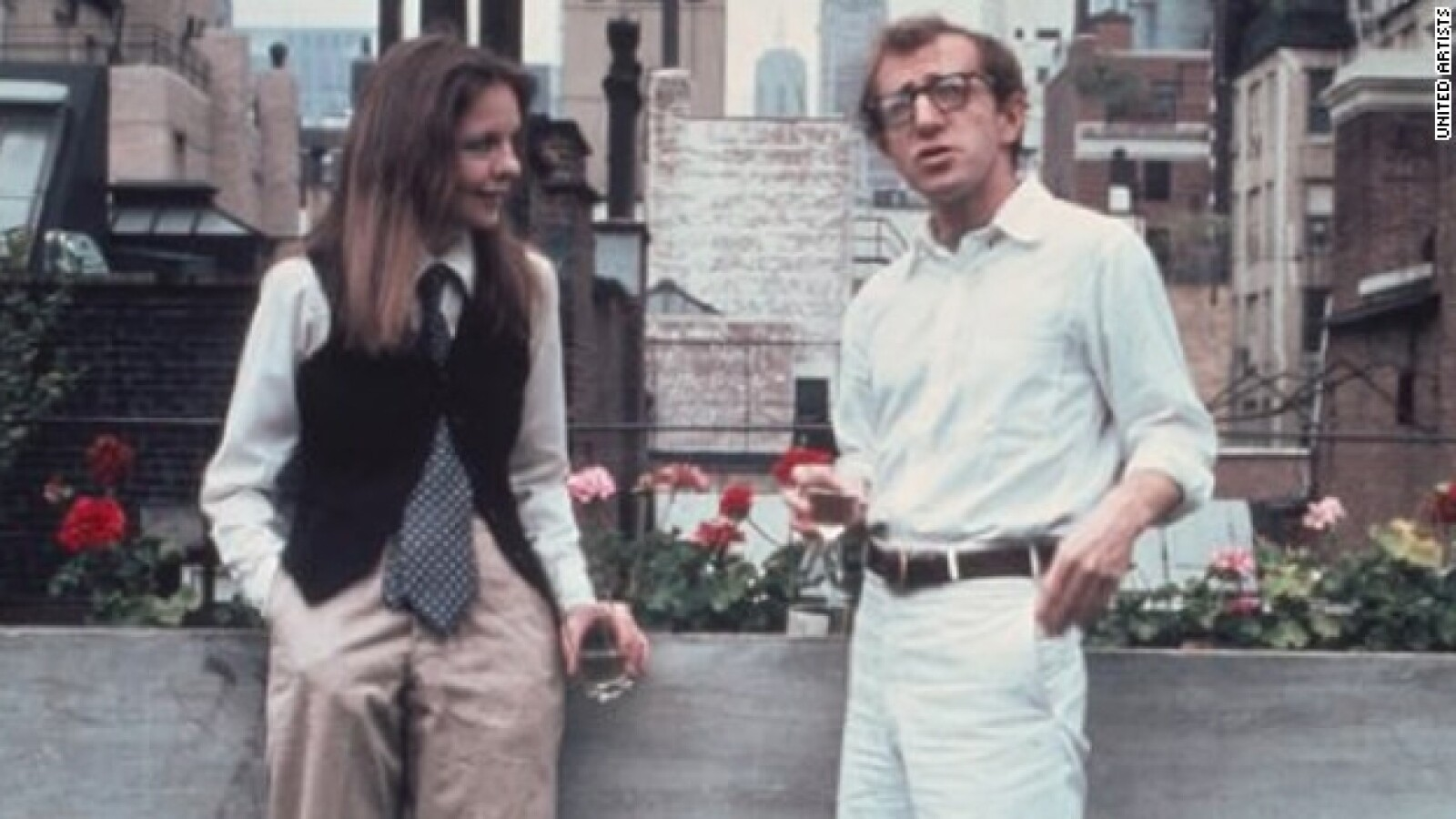 Diane Keaton y Woody Allen