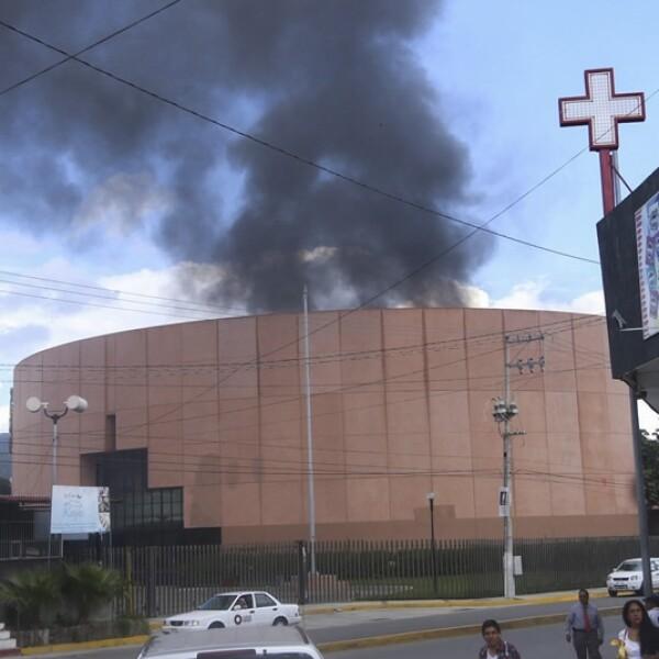 Guerrero, congreso, disturbios, quema, ceteg, normalistas, ayotzinapa
