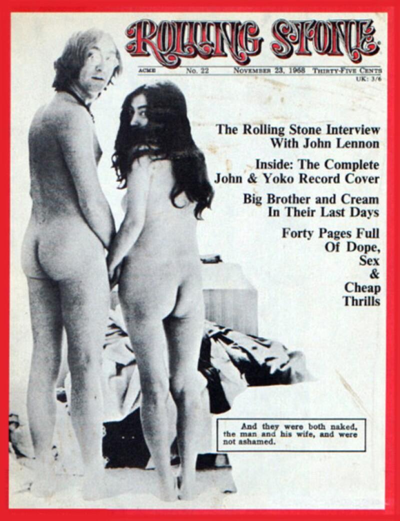 Esta icónica portada de `Rolling Stone´ fue publicada en 1968.