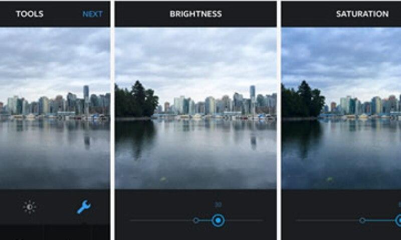 El usuario podrá graduar la aplicación de los filtros. (Foto: Tomada de blog.instagram.com)