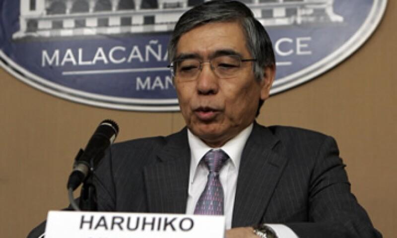 Haruhiko Kuroda sería designado jefe del Banco Central de Japón esta misma semana. (Foto: AP)