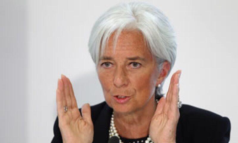 Christine Lagarde dijo que los griegos deberían ayudarse colectivamente pagando sus impuestos. (Foto: AP)